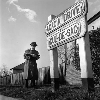 Photograph - Insurance Man by John Chillingworth