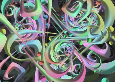 Digital Art - Integro Remix One by Vitaly Mishurovsky