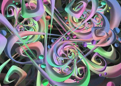 Digital Art - Integro by Vitaly Mishurovsky