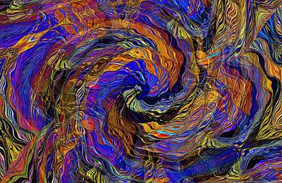 Digital Art - Inter Twine by David Manlove
