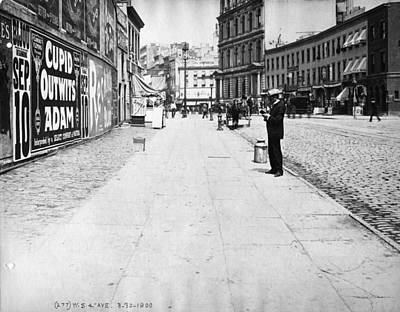 Painting - Interborough Rapid Transit Construction 1900 by Celestial Images