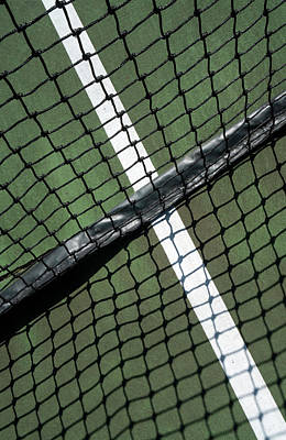 Photograph - Interfaces And Interactions On The Tennis Court by Gary Slawsky