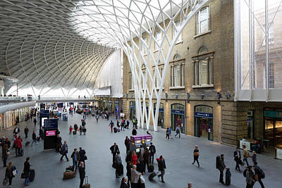 Photograph - Interior Antrim, Kings Cross Station by Chris Mellor