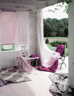 Photograph - Interior Decorating Materials by Horst P. Horst