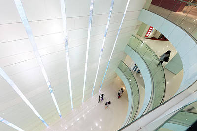 Photograph - Interior Of Harbour City Shopping Mall by Dan Herrick