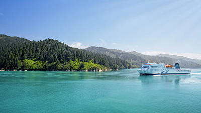Photograph - Interislander Ferry New Zealand by Joan Carroll