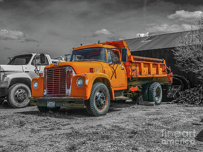 Photograph - International Loadstar 1600 by Tony Baca