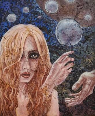 Fantasy Painting - Intium by Julie Kitamura
