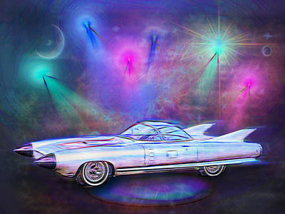 Digital Art - Into The Future by Rick Wicker