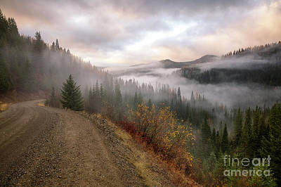 Photograph - Into The Mists by Idaho Scenic Images Linda Lantzy