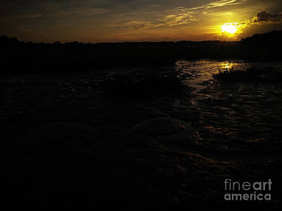 Photograph - Into The Sunset by Robert Knight