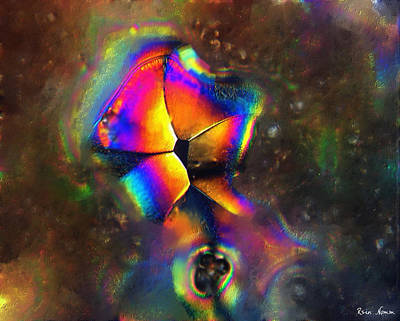 Digital Art - Enveloped  by Rein Nomm