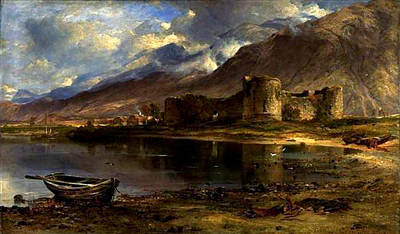 Painting - Inverlochy Castle by Horatio McCulloch