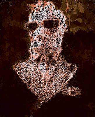 Mixed Media - The Invisible Man by Al Matra