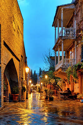 Photograph - Ioane Shavteli Street by Fabrizio Troiani