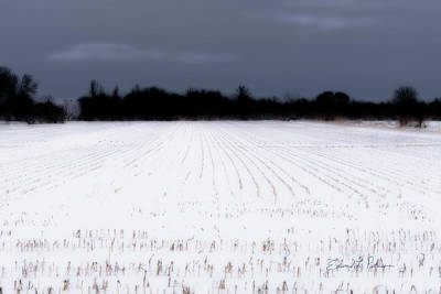 Photograph - Iowa Fields At Rest by Edward Peterson