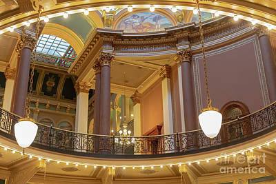 Photograph - Iowa State Capitol by Jim West