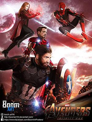 Infinity War Art Fine Art America