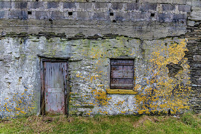 Photograph - Ireland Door And Window  by John McGraw