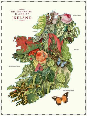 Digital Art - Ireland by Gary Grayson