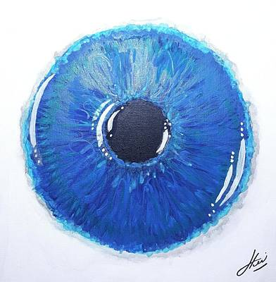 Wall Art - Painting - Iris 1 by Keri Fuller
