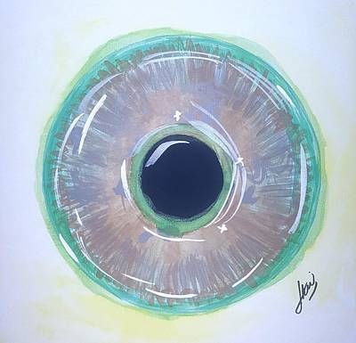 Wall Art - Painting - Iris 22 by Keri Fuller