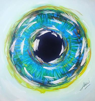 Wall Art - Painting - Iris 27 by Keri Fuller