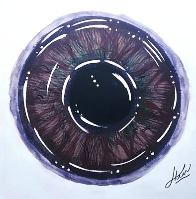 Wall Art - Painting - Iris 3 by Keri Fuller
