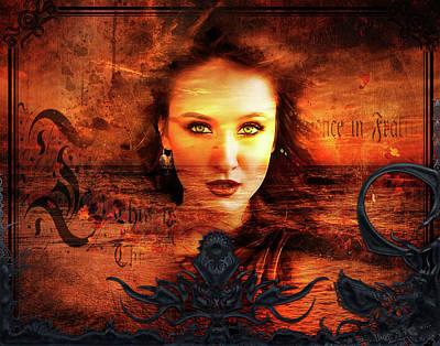 Digital Art - Iris Goddess Of The Sea by Michael Damiani