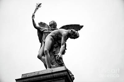 Photograph - Iris Takes The Fallen Hero To Olympus In Berlin by John Rizzuto