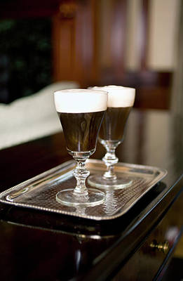 Photograph - Irish Coffee by Sf foodphoto
