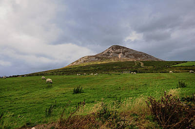 Photograph - Irish Idyll. Sugarloaf Hill 1 by Jenny Rainbow