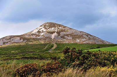 Photograph - Irish Idyll. Sugarloaf Hill 4 by Jenny Rainbow
