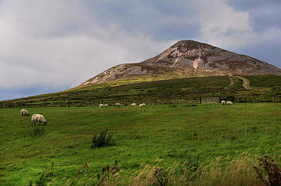 Photograph - Irish Idyll. Sugarloaf Hill by Jenny Rainbow