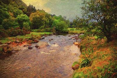 Photograph - Irish Journey. Glendalough Stream by Jenny Rainbow