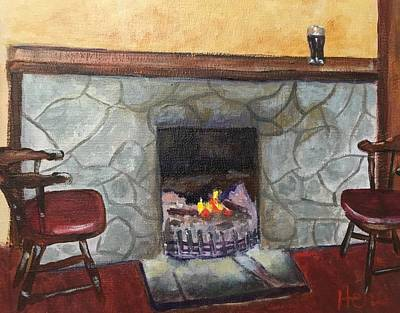 Painting - Irish Pub by Marcia Hero