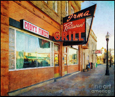 Photograph - Irma Restaurant And Grill by Craig J Satterlee