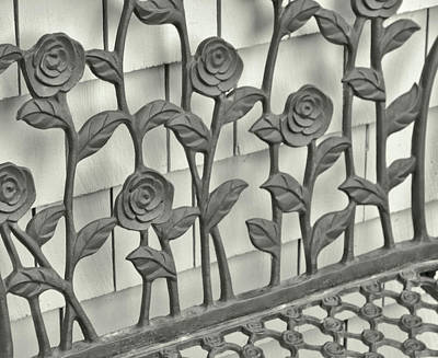 Photograph - Iron Blooms by Jamart Photography