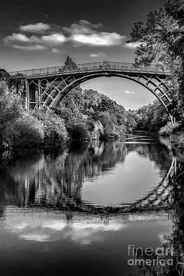 Photograph - Iron Bridge Shropshire  by Adrian Evans
