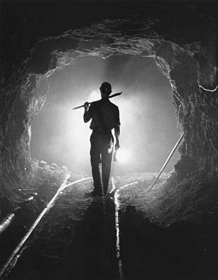 Photograph - Iron Miner by Charles Hewitt