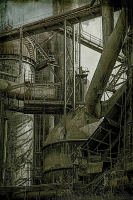 Photograph - Iron Works by Ronald Santini