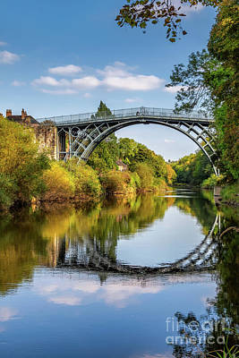 Photograph - Ironbridge Shropshire  by Adrian Evans