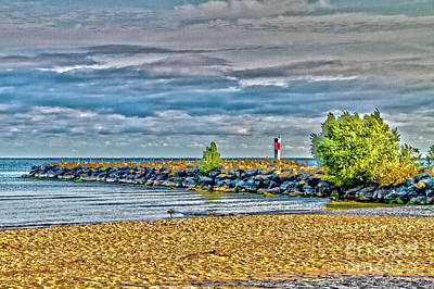 Photograph - Irondequoit Beach by William Norton