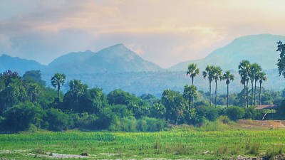 Photograph - Irrawaddy Landscape by Chris Lord