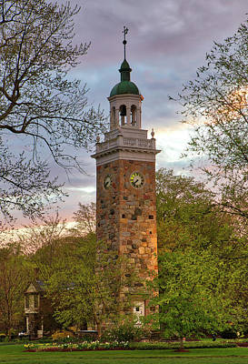 Photograph - Isaac Sprague Memorial Tower In Wellesley Hills by Juergen Roth