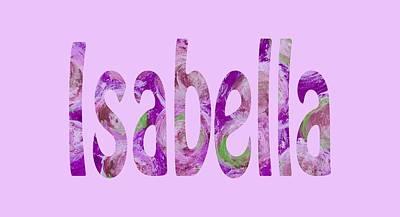 Digital Art - Isabella by Corinne Carroll