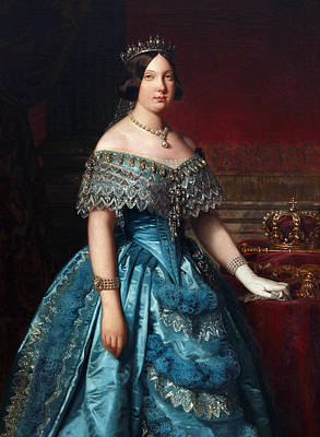 Painting - Isabella II by Federico de Madrazo