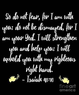 Digital Art - Isaiah 4110 Bible by Flippin Sweet Gear