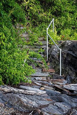 Photograph - Island Steps by Tom Singleton
