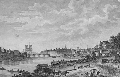 Islands Of Paris Art Print by Hulton Archive